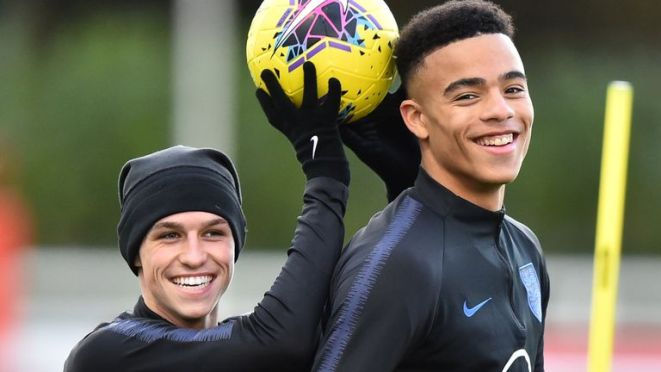 Phil Foden and Mason Greenwood have previously played together for England's U21s