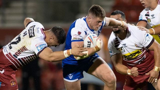St Helens and Wigan face off in a derby clash on Friday night