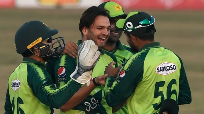 Usman Qadir took four wickets as Pakistan sealed a series sweep over Zimbabwe with an eight-wicket win in the third T20I
