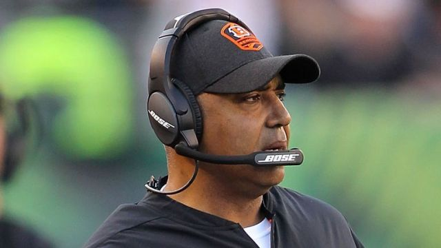 Marvin Lewis is in the frame for the head-coaching position at Houston Texans