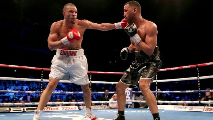 Eubank Jr last fought in the UK against James DeGale in February 2019