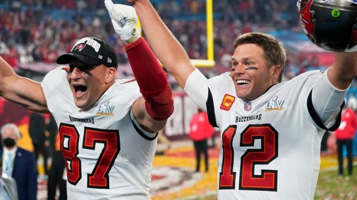 Highlights of the Tampa Bay Buccaneers' victory over the Kansas City Chiefs in Super Bowl LV.