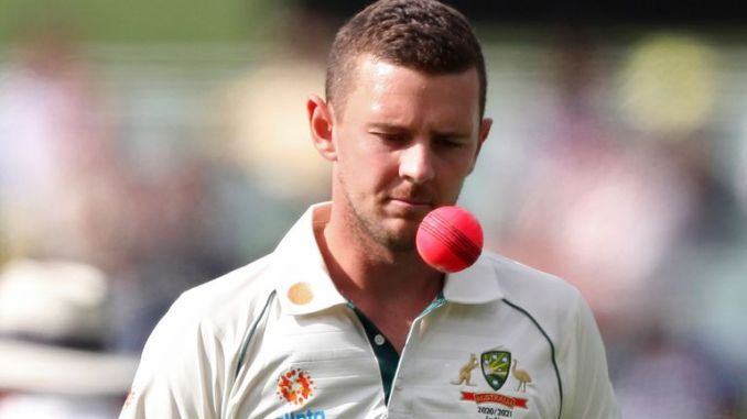 Josh Hazlewood will focus his energy on preparing for a busy summer and winter of international cricket with Australia