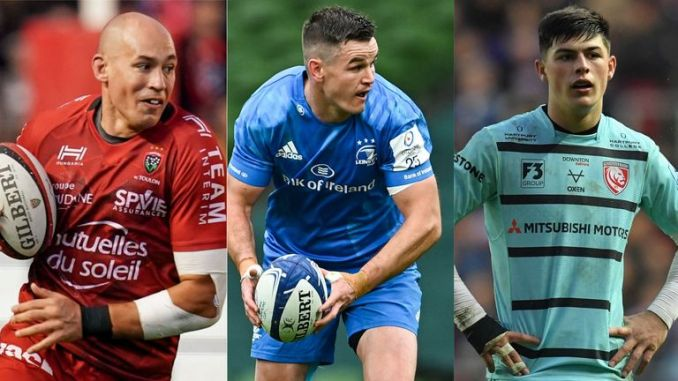 Some of the biggest names in European rugby will be in European Cup round-of-16 action on Friday night, including Sergio Parisse, Johnny Sexton and Louis Rees-Zammit
