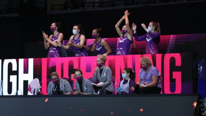 Loughborough Lightning are going in search of their first Vitality Netball Superleague title (Image credit - Morgan Harlow)