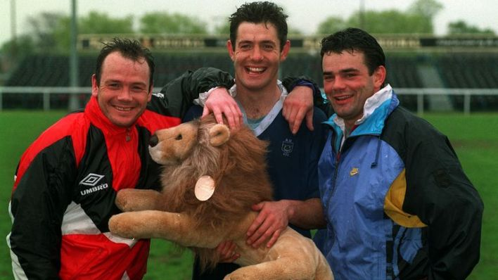 Will Carling (right) had to withdraw from Lions duty in 1989, but did become a Lion in 1993