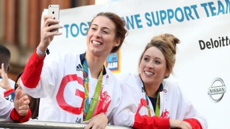 Great Britain's Bianca Walkden and Jones have enjoyed each other's company as team-mates for over a decade