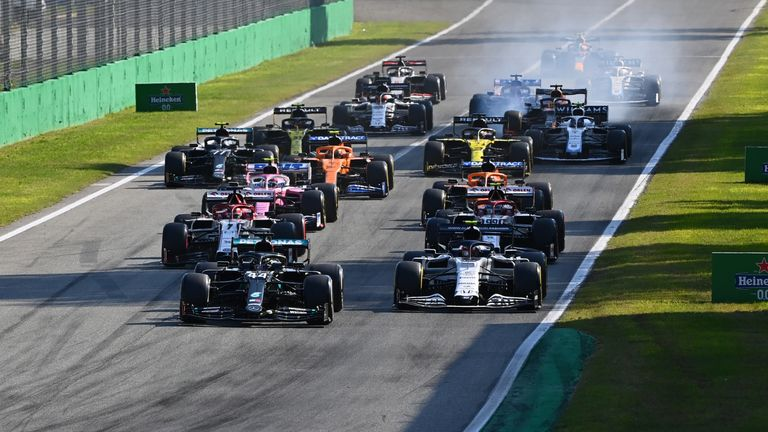 F1 Sprint is likely to be 18 laps of the historic and high-speed Monza circuit