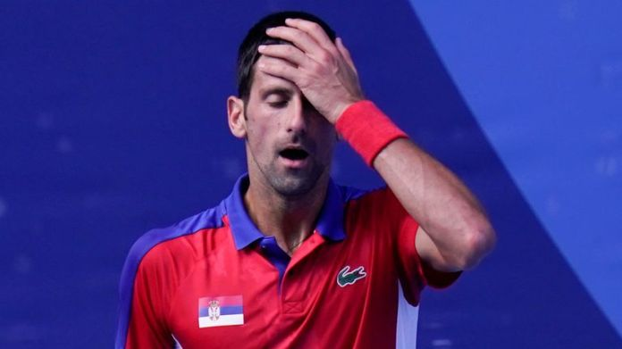 Novak Djokovic pushed the match to a deciding set but could not overcome his Spanish opponent