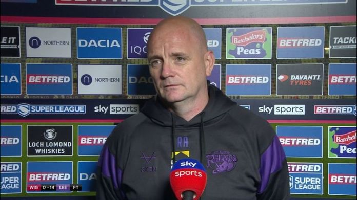 Leeds Rhinos coach Richard Agar was proud of how his team worked for each other in Leeds' win over Wigan Warriors