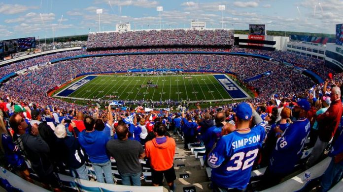 Buffalo Bills' current lease at Highmark Stadium in Orchard Park ends in 2023