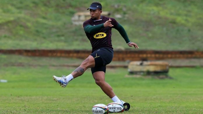 Elton Jantjies starts at fly-half for South Africa