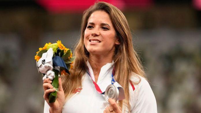 Maria Andrejczyk won javelin silver at Tokyo 2020