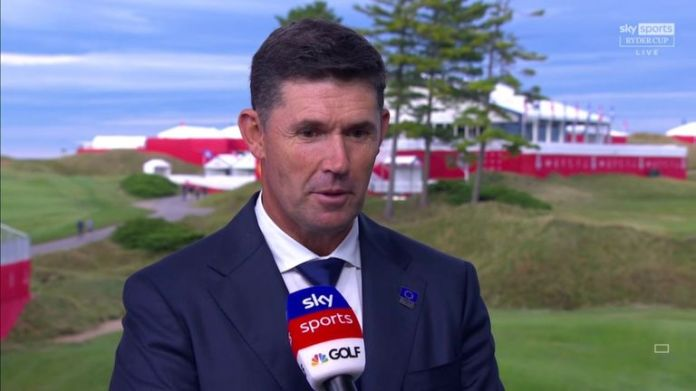 European Ryder Cup captain Padraig Harrington explains the thinking behind his Friday foursomes choices and takes a first look at the match-ups for the opening session