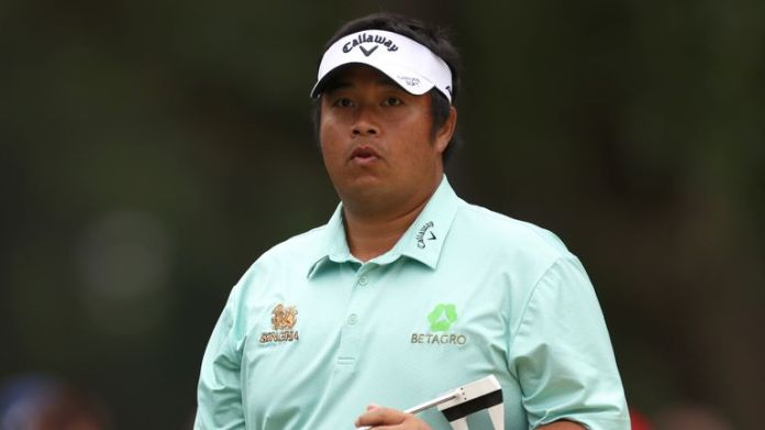 Aphibarnrat carded rounds of 64, 68, 74 and 64 during the tournament week