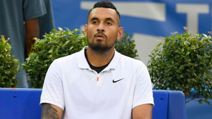Nick Kyrgios headed home after playing the Laver Cup in Boston, his last event in the 2021 season, and will now undergo treatment for a knee issue