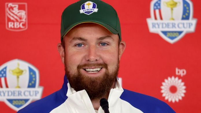 Shane Lowry is one of three rookies in the European Ryder Cup team