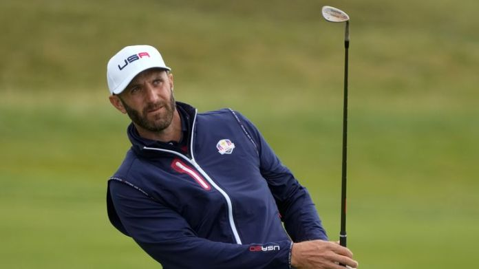 Dustin Johnson, the USA's 'veteran', will play with Collin Morikawa in the foursomes
