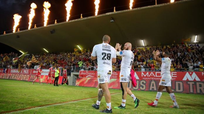 Catalans fans turned out in force for the Dragons' Super League semi-final against Hull KR