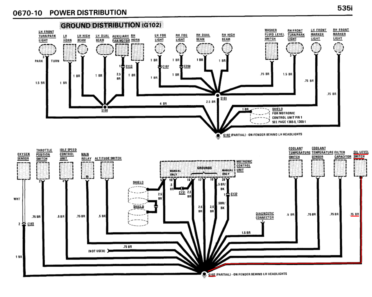 M30 B34 B35 Oil Level Sensor Wire Diagram Help Mye28