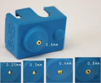 英國原裝 E3D V6矽膠套 PRO專業版 配合噴嘴口徑