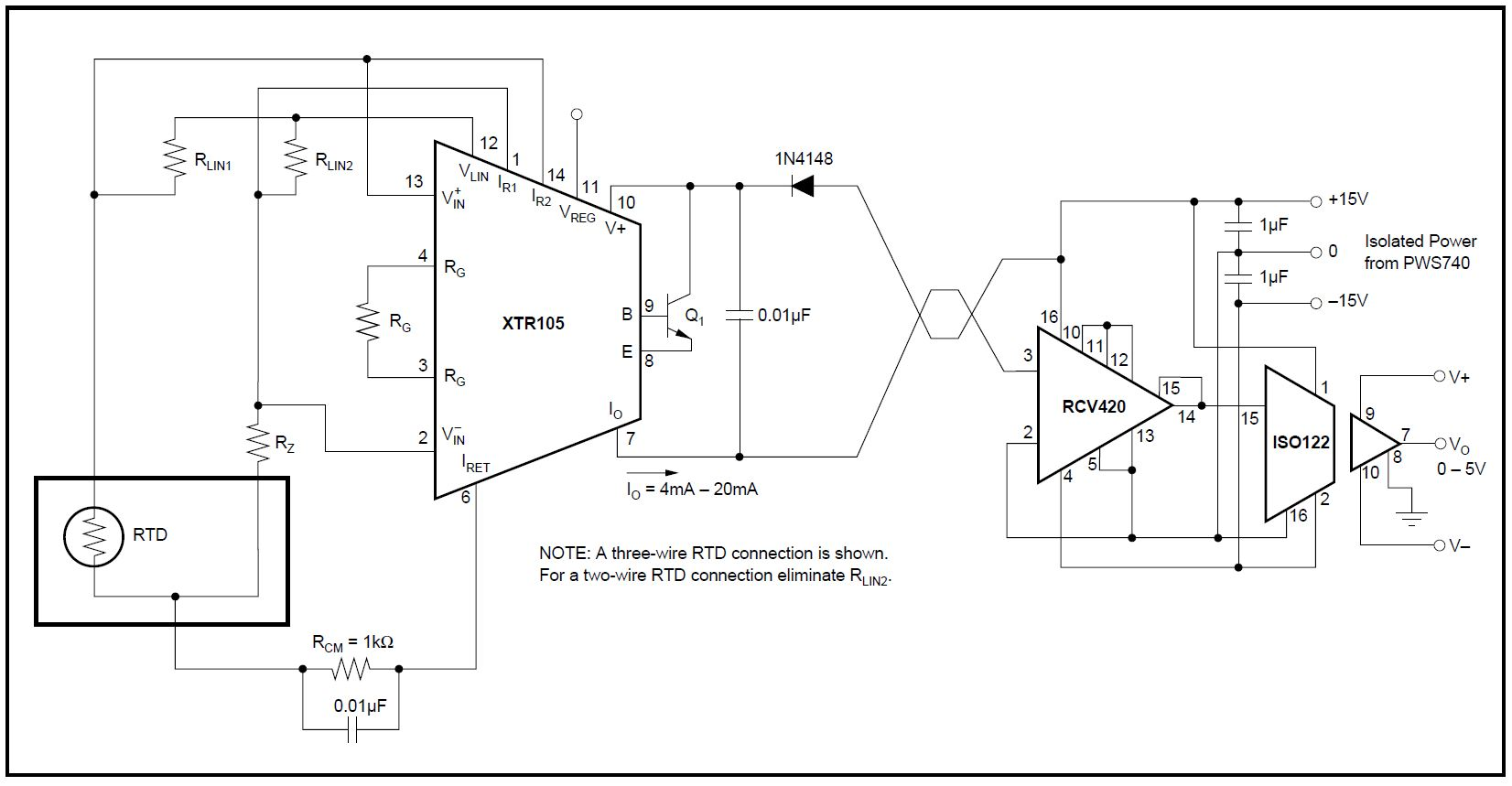 Isolated Voltage Amplifier Circuit Diagram Analog Isolation Amplifiercircuit