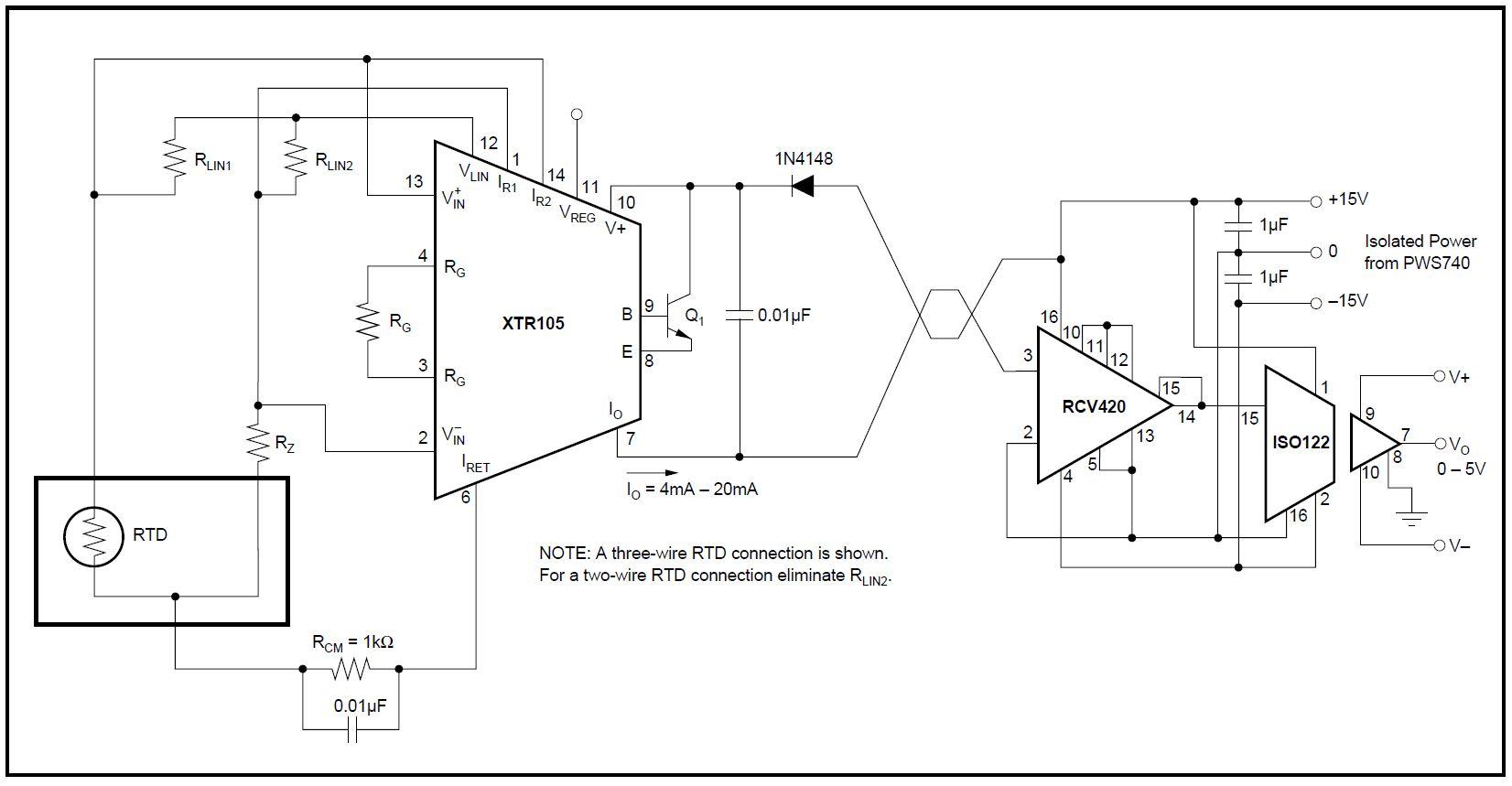 4 20ma Circuit Diagram