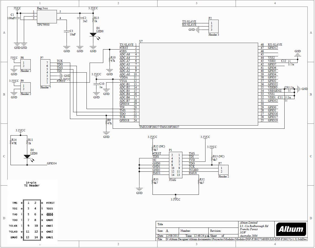 Xds100v1 And Custom Board