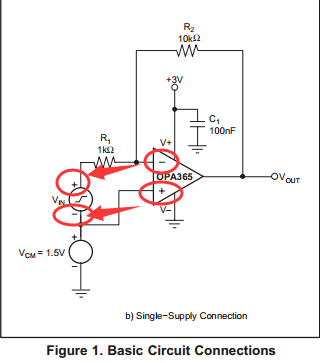 OPA365電路接法問題 - 放大器 - 放大器 - E2E™ 中文支持論壇