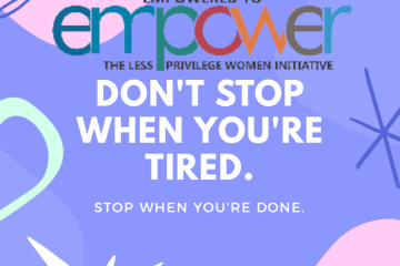 E2E Dont stop when you are tired
