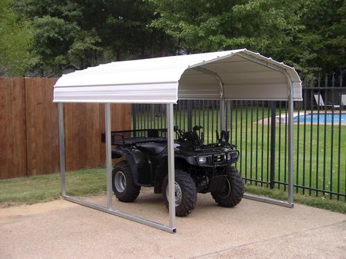7W X 9L X 6H ATV Shelter At Menards