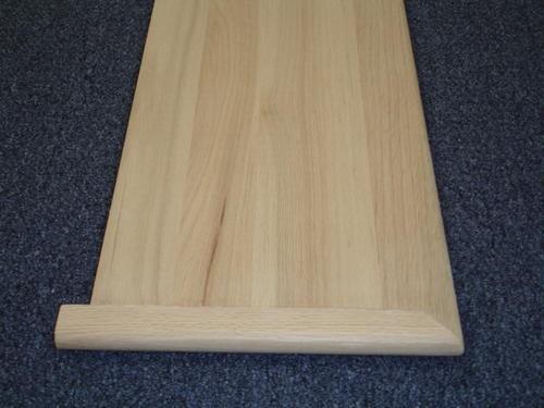 11 1 2 X 42 Red Oak Tread With Return At Menards® | Outdoor Stair Treads Menards
