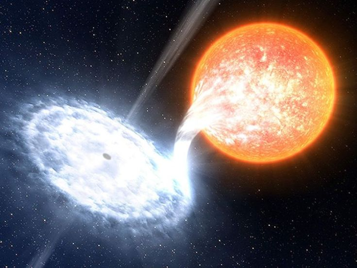 British astronomers have observed violent red flashes, lasting just fractions of a second, during one of the brightest black hole outbursts in recent years.