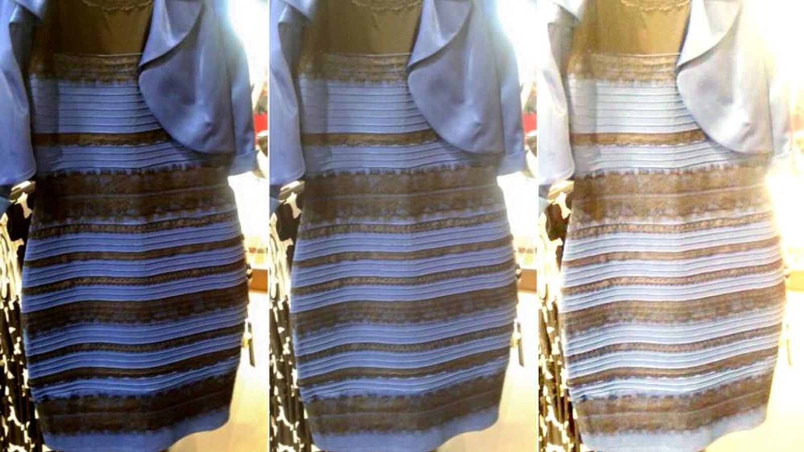 What Colour Is This Dress Debate Swamps Web UK News