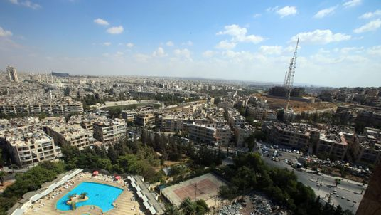 Syrians Swim In War-Torn Syria