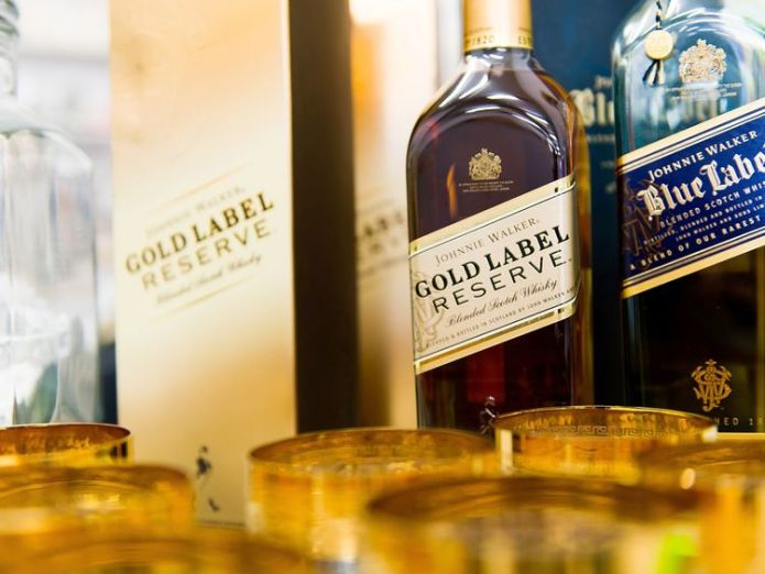 Diageo's stable includes the Johnnie Walker whisky brand Diageo calls time on Goldschlager in $1bn sell-off Diageo calls time on Goldschlager in $1bn sell-off c9ece3c2f369d92a1d5f44256f8ed1aac2a3126775b3171a08198386b82e2896 3837144