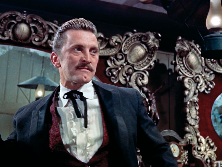 Kirk Douglas in the 1957 film Gunfight At The OK Corral