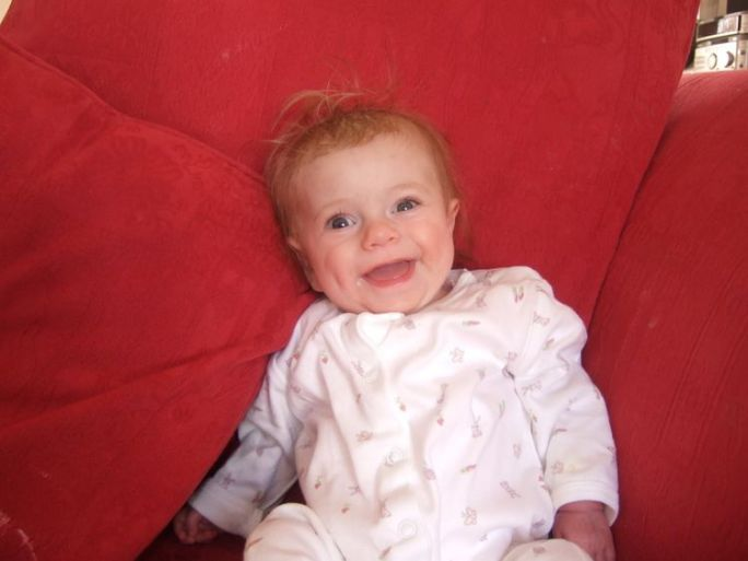 Lily Merritt, who died as a baby from mitochondrial disease. Pic: Liz Curtis