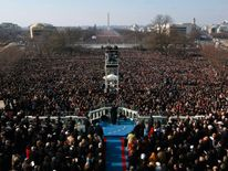 Crowds packed Washington's National Mall for Barack Obama's first inauguration in 2009
