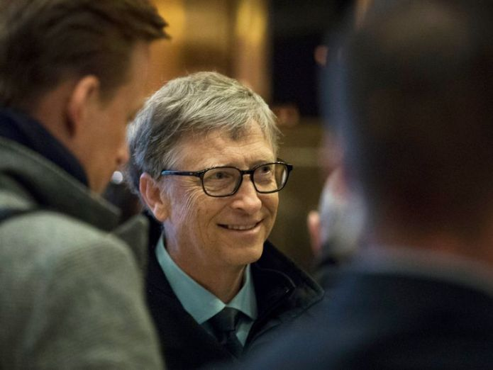 Bill Gates has pledged to give away most of his wealth Donald Trump's wealth 'slumps by $600m in a year' to see him slip 92 places in Forbes rich list Donald Trump's wealth 'slumps by $600m in a year' to see him slip 92 places in Forbes rich list 721da83494ee3361cf54022314f5b7d062cd10be775d11163d143446aa6277c8 3870980