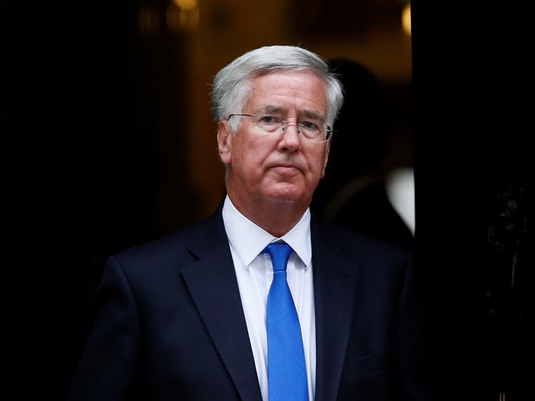 Image result for Sir Michael Fallon, photos