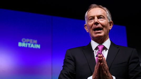 Tony Blair wants people to 'rise up' against Brexit
