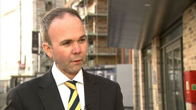 Housing Minister, Gavin Barwell