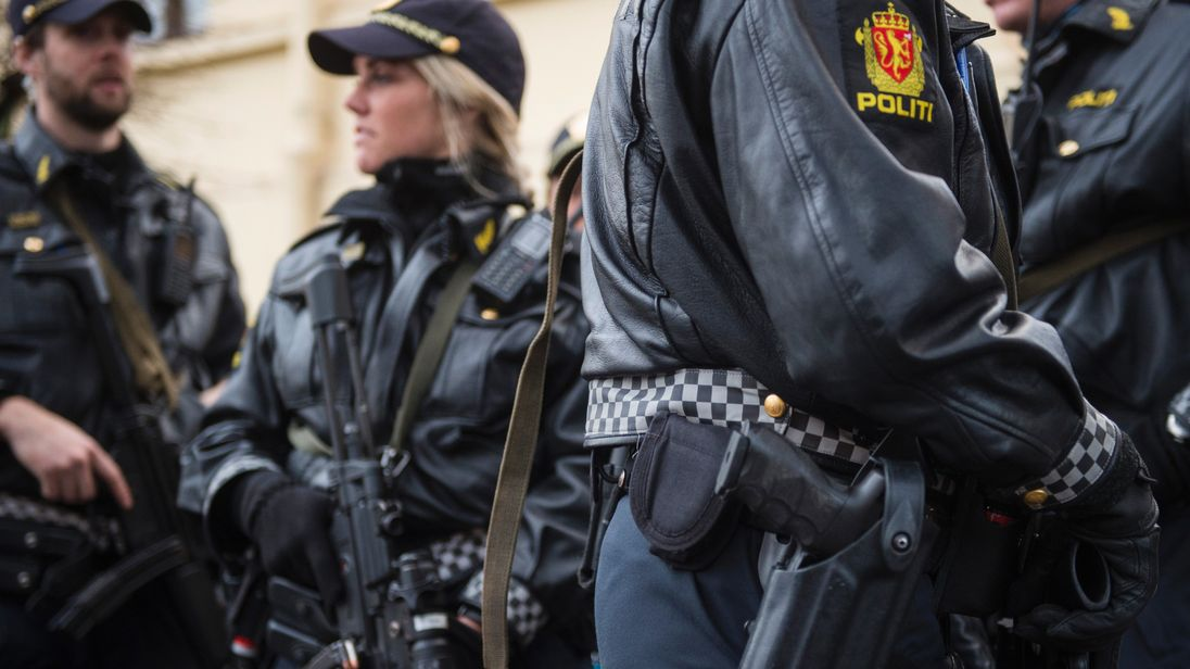 Police in Oslo, Norway
