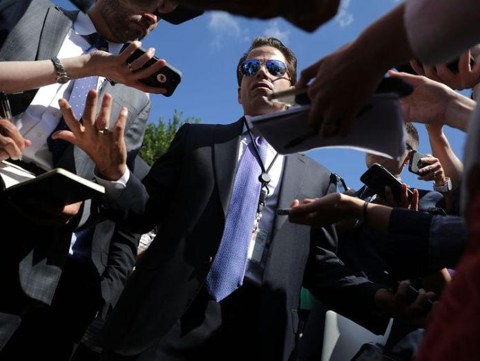 Scaramucci made lewd comments about his colleagues in conversation with a journalist People in White House working to eject Donald Trump People in White House working to eject Donald Trump 5071b0777b2e0b59e3bc888f903975bcb344c4bb78fa7838b6f7216fd5e20deb 4059758