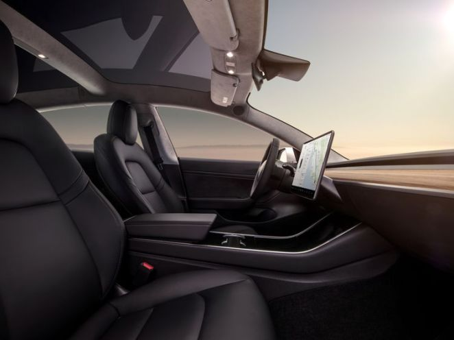 The Model 3 comes equipped with on-board computers