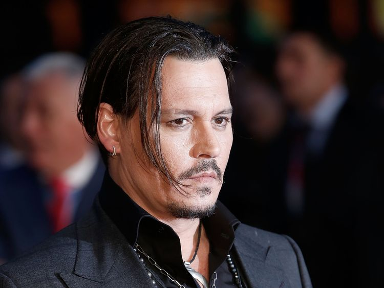Johnny Depp attends the 'Black Mass' Virgin Atlantic Gala screening during the BFI London Film Festival, at Odeon Leicester Square on October 11, 2015 in London, England. (Photo by John Phillips/Getty Images for BFI)