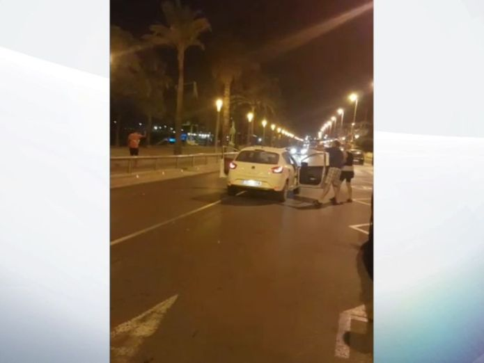 Video shows man being shot by police in Cambrils Amateur video shows Cambrils suspect shot dead by police Amateur video shows Cambrils suspect shot dead by police 08d9b7cb5ecb6f918aef4ae4010fff5cbbd4aec06b5eb21234499f0a396af05f 4076497