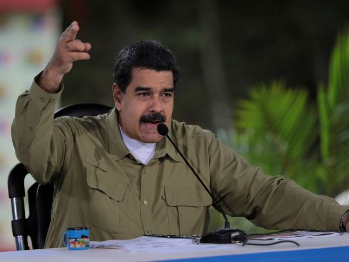 Venezuela's President Nicolas Maduro Trump considering 'possible military option' in Venezuela Trump considering 'possible military option' in Venezuela 0c6159a8f70ec6a270c1235fb654caefcdae25ad4b1b8c70aa54c376c192a934 4067814