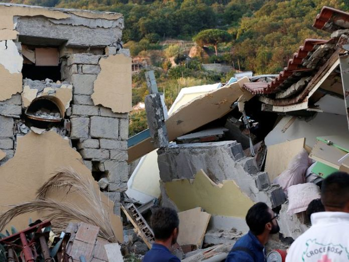 Collapsed houses are seen after an earthquake hits the island of Ischia, off the coast of Naples, Italy August 22, 2017 Baby rescued from Italy quake rubble as search for survivors continues Baby rescued from Italy quake rubble as search for survivors continues 13c39a7ae64cb7548125de18a73d9c288ef761777d9cc12ee6bf90ab0957fa72 4079852